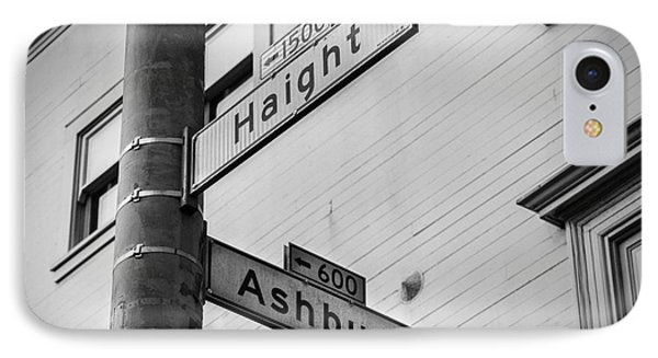 Haight And Ashbury IPhone Case