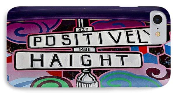 Haight-ashbury Art In San Francisco IPhone Case