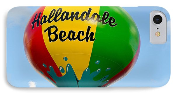 Hallendale Beach Water Tower IPhone Case