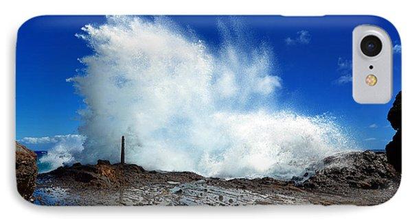 Halona Blowhole Crashing Wave IPhone Case