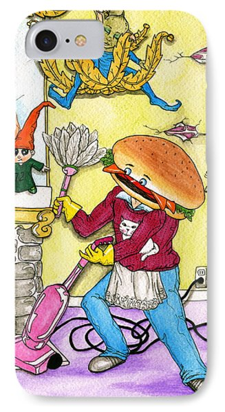 Hamburger Helper IPhone Case