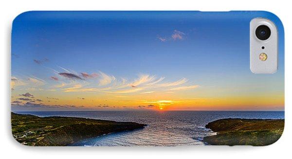 Hanauma Bay Sunrise IPhone Case