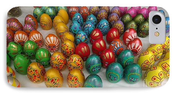 Hand Painted Eggs IPhone Case