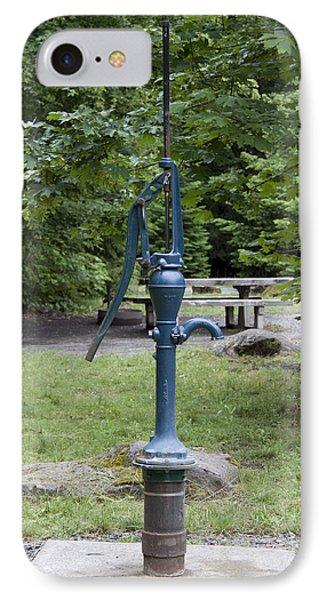 Hand Water Pump 02 IPhone Case