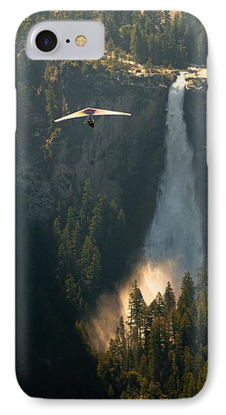 Hang Glider In Yosemite National Park IPhone Case