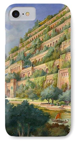 Hanging Gardens Of Babylon IPhone Case