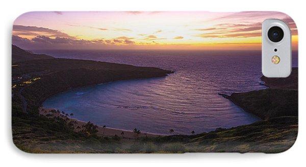 Hanuama Crater Rim Sunrise IPhone Case