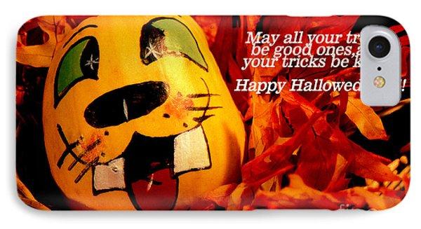 Happy Hallowed Eve IPhone Case