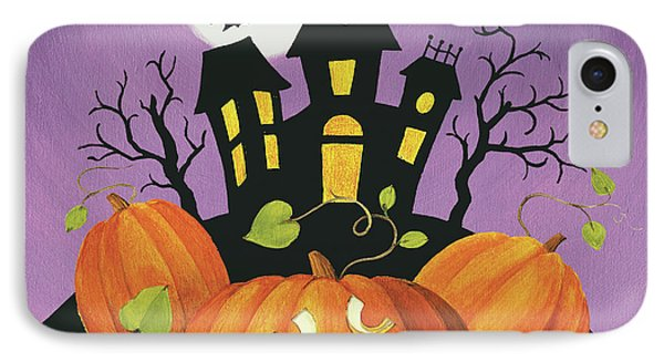 Happy Haunting House On Pumpkins IPhone Case