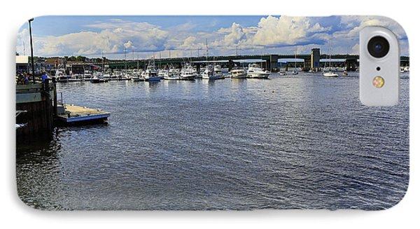 Harbor At Newburyport Ma 3 IPhone Case
