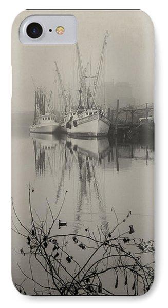 Harbor Fog No.4 IPhone Case