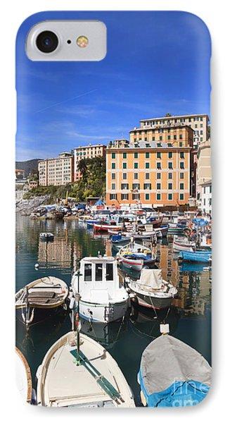 harbor in Camogli - Italy IPhone Case