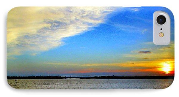 Harbor Sunset 2 IPhone Case