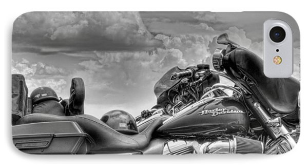 Harley Black And White IPhone Case