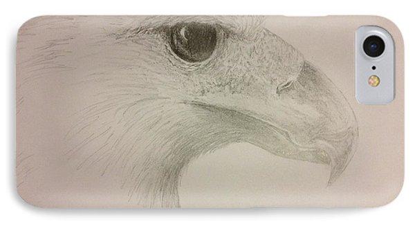 Harpy Eagle Study IPhone Case