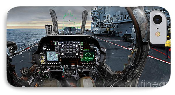 Harrier Cockpit IPhone Case