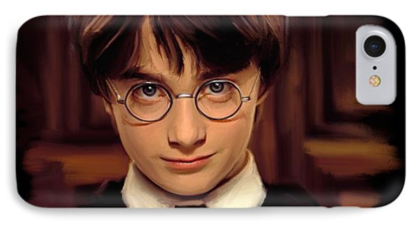 Wizard iPhone 8 Case - Harry Potter by Paul Tagliamonte