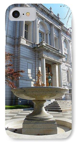 Hartford Historical Building IPhone Case