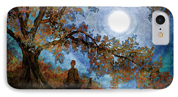 Harvest Moon Meditation IPhone Case