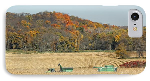 Harvesting Iowa Corn  IPhone Case