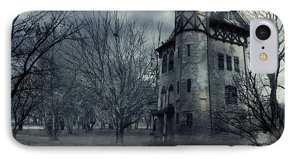 Castle iPhone 8 Case - Haunted House by Jelena Jovanovic