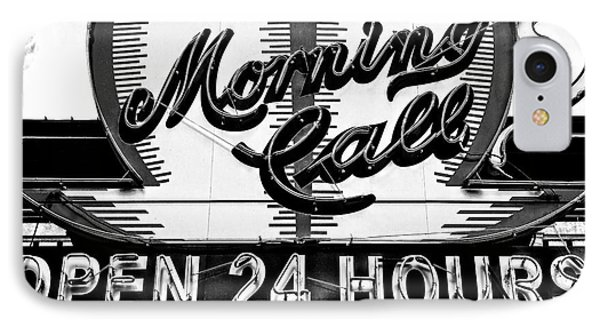 Have A Cup Of Coffee At Morning Call New Orleans IPhone Case