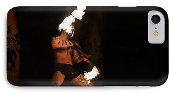 Hawaiian Fire Dancer IPhone Case