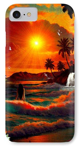 Hawaiian Islands IPhone Case
