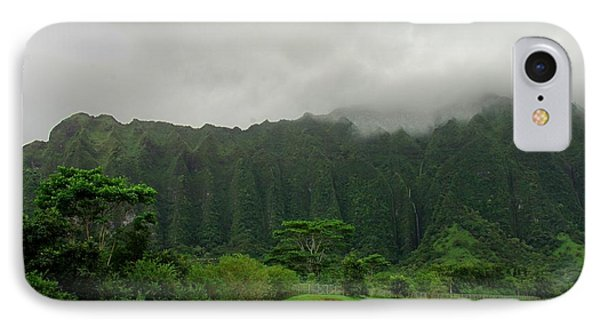 Hawaiian Rain Forest IPhone Case