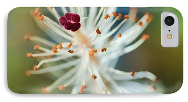 Hawaiian White Hibiscus IPhone Case