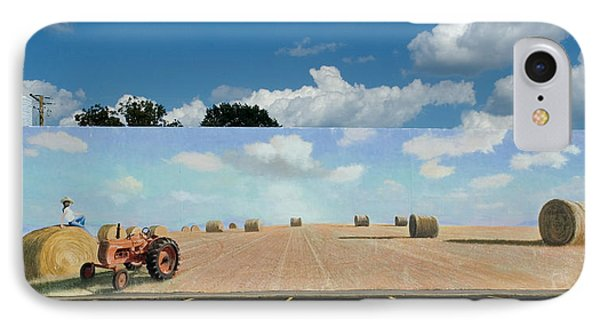 Haybales - The Other Side Of The Tunnel IPhone Case