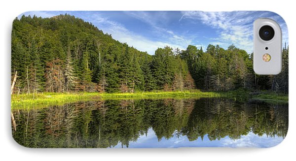 Haystack Mountain And Pond IPhone Case