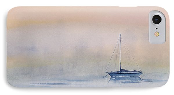 Hazy Day Watercolor Painting IPhone Case
