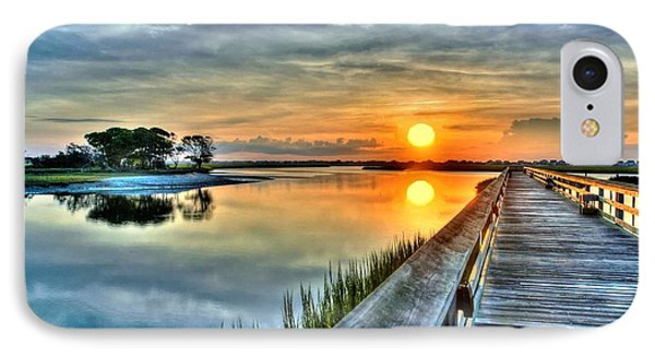 Hdr Boardwalk Sunrise IPhone Case