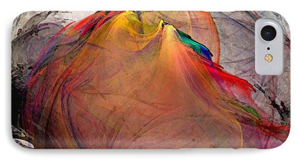 Headless-abstract Art IPhone Case