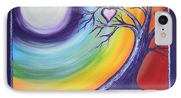 Heart Chakra Meditation IPhone Case