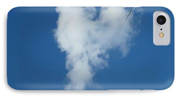 Heart Cloud Bell Rock IPhone Case