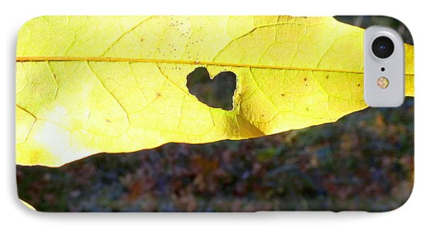 Heart Leaf IPhone Case
