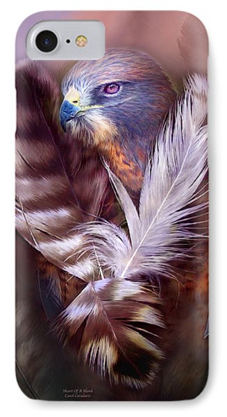 Heart Of A Hawk IPhone Case