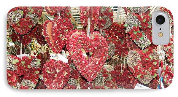 Heart's Full Of Flowers IPhone Case
