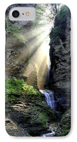 Heaven's Light In Watkins Glen IPhone Case