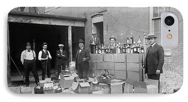 Heavily Armed Feds Seize Liquor Cache 1922 IPhone Case