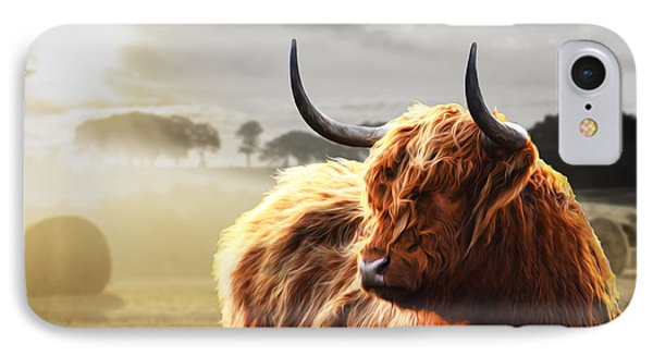 Heilan Coo On Fire IPhone Case