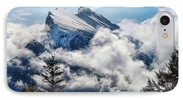 Her Majesty - Canada's Mount Rundle IPhone Case