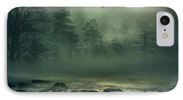 Heron By Moonlight IPhone Case