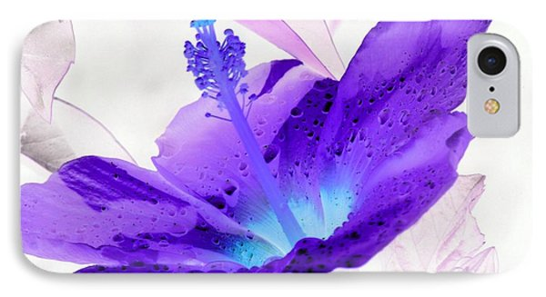 Hibiscus - After The Rain - Photopower 754 IPhone Case