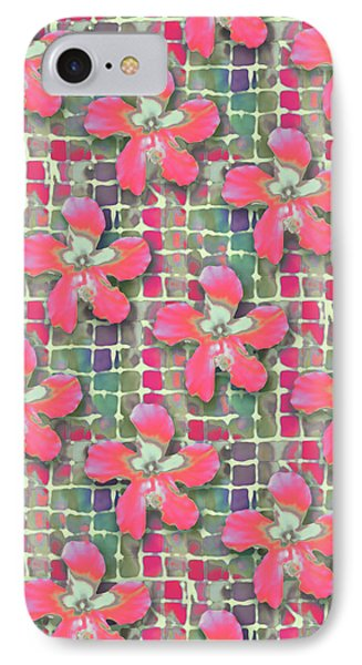 Hibiscus Pink Water IPhone Case