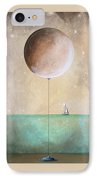 Whimsical iPhone 8 Case - High Tide by Cindy Thornton