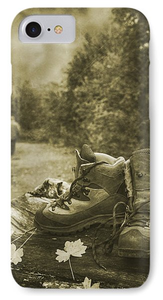 Hiking Boots IPhone Case