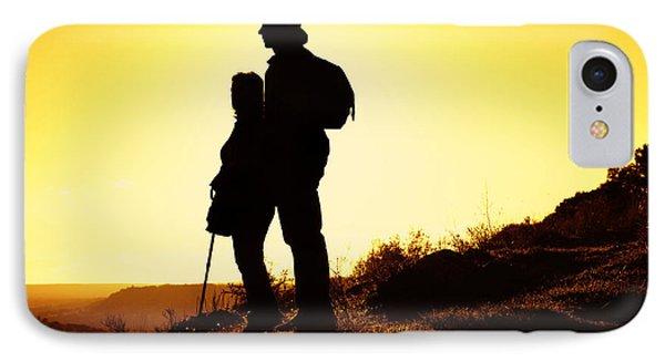 Hiking Couple IPhone Case